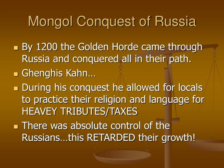 Mongol Conquest of Russia