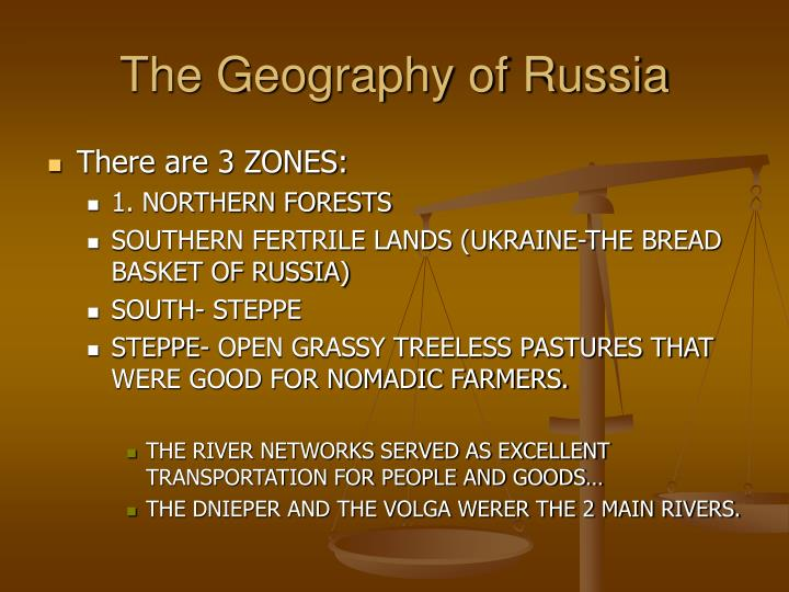The Geography of Russia