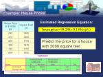 example house prices