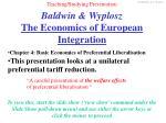 baldwin wyplosz the economics of european integration2
