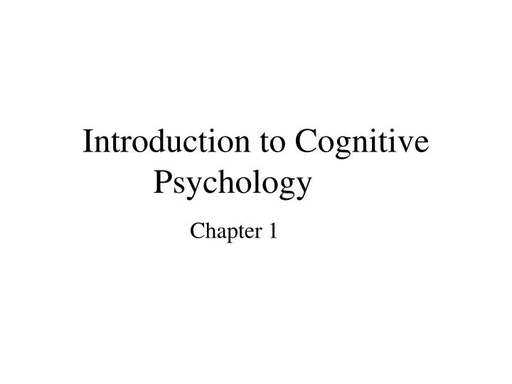 introduction to psychology readings essay Psychology tends to come from the ideas behind the writing, not the writing itself this booklet is designed to acquaint you with the basic principles of psychological writing and to help you avoid pitfalls that beginning writers in the field often encounter.