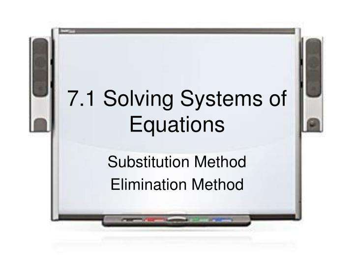 7 1 solving systems of equations n.