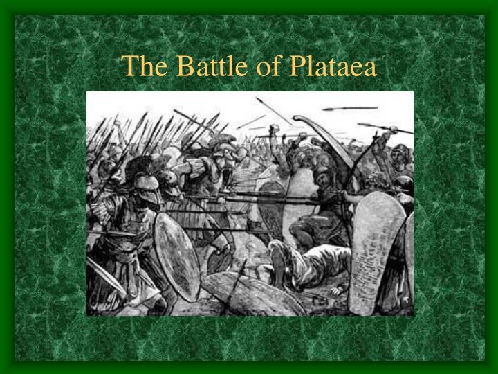 The Battle of Plataea