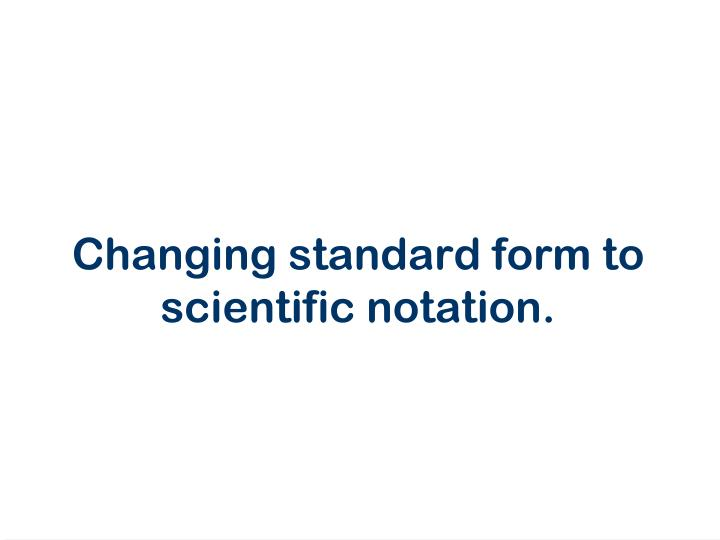 Ppt Scientific Notation Powerpoint Presentation Id5771705