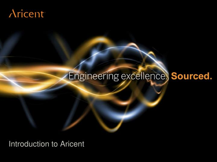 introduction to aricent n.