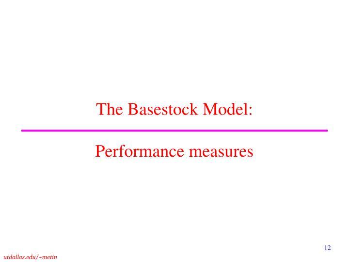 The Basestock Model: