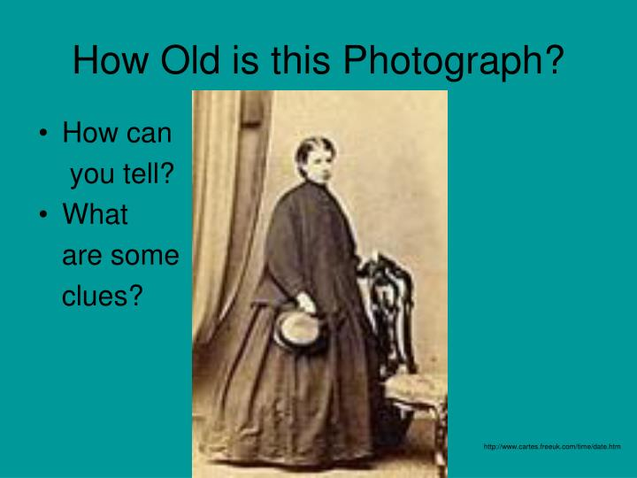How old is this photograph