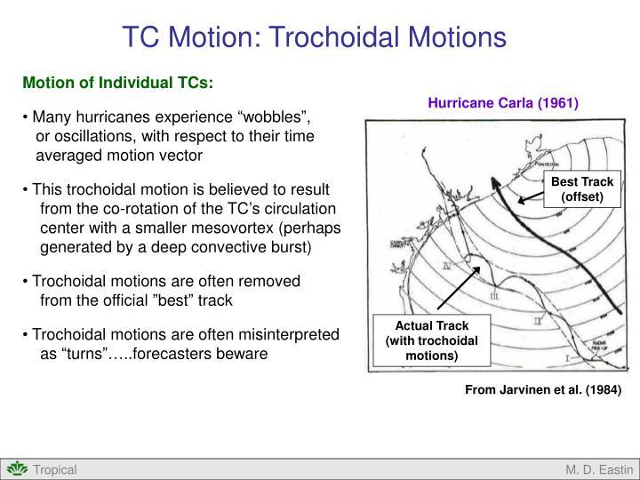 TC Motion: Trochoidal Motions