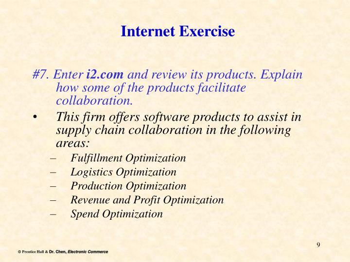 Internet Exercise