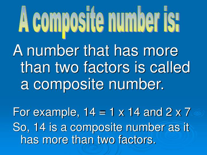 A composite number is: