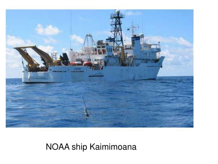 NOAA ship Kaimimoana