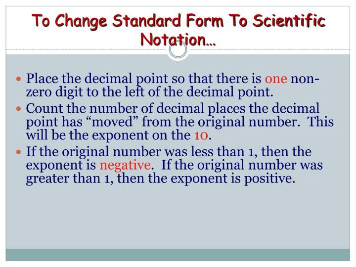 Ppt Scientific Notation Powerpoint Presentation Id5772630