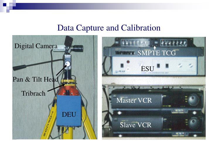 Data Capture and Calibration