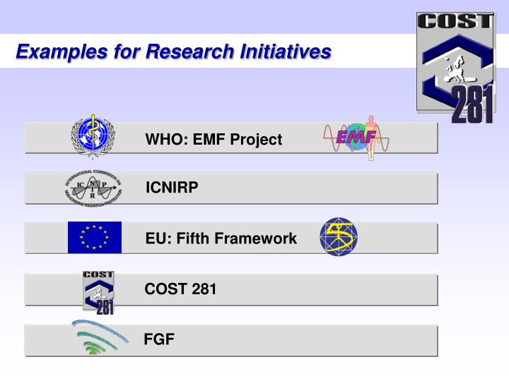 WHO: EMF Project