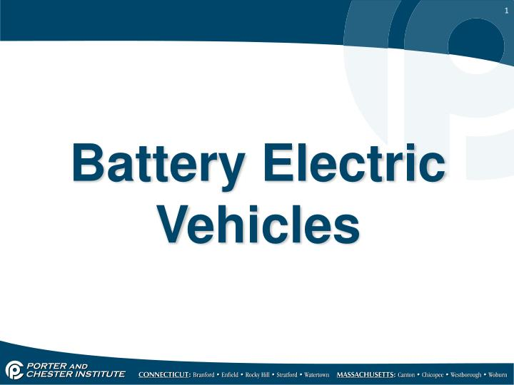 battery electric vehicles n.
