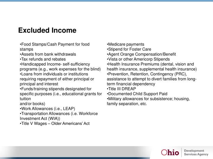 Excluded Income