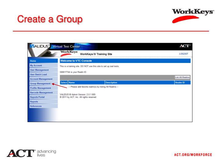Create a Group