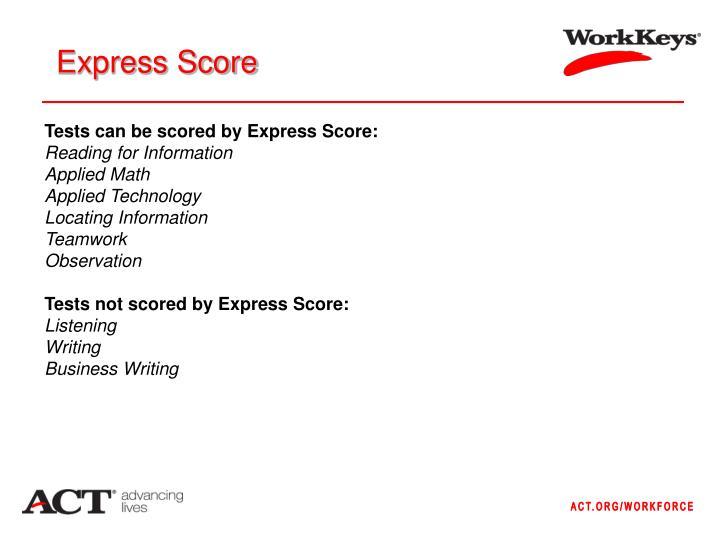Express Score