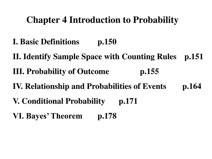 chapter 4 introduction to probability n.