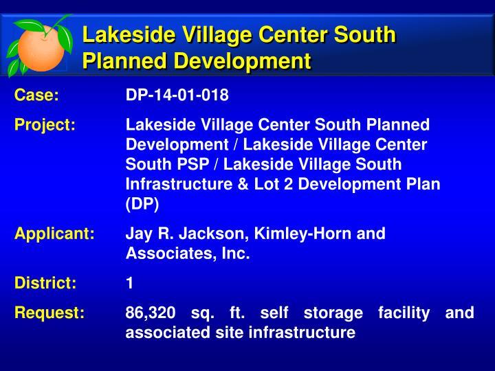 Lakeside Village Center South