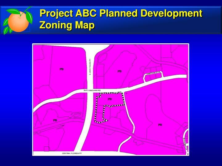 Project ABC Planned Development
