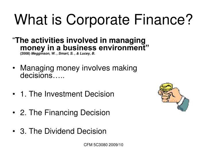 14 the business and financial objectives of a strategic investment decision made by an organisation  Another key financial objective for both organisations is therefore to keep spending within budget 44 although good financial management of these organizations is important, it is not possible to have financial objectives of the same form as for companies.