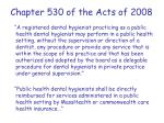 chapter 530 of the acts of 2008