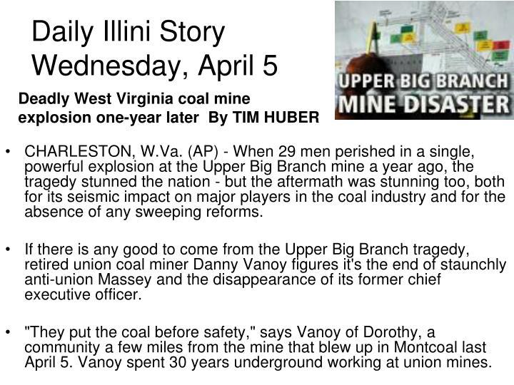Daily Illini Story