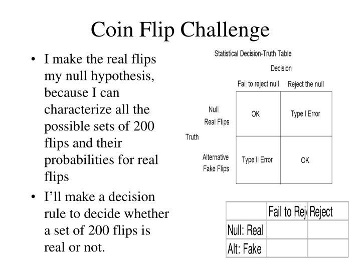 Coin Flip Challenge