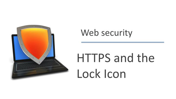 https and th e lock i con n.