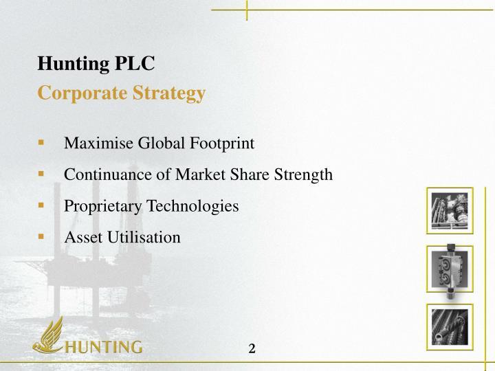 Hunting plc