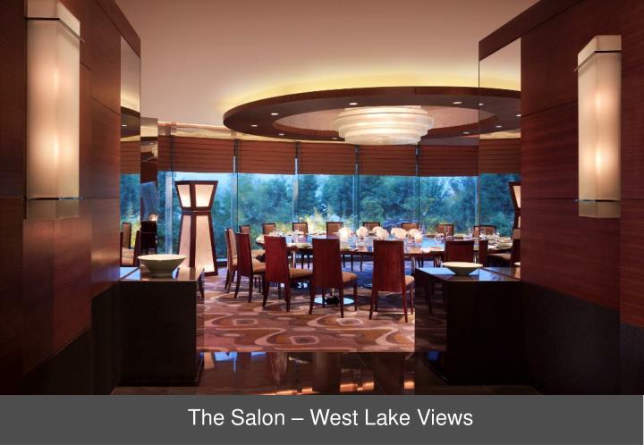 The Salon – West Lake Views