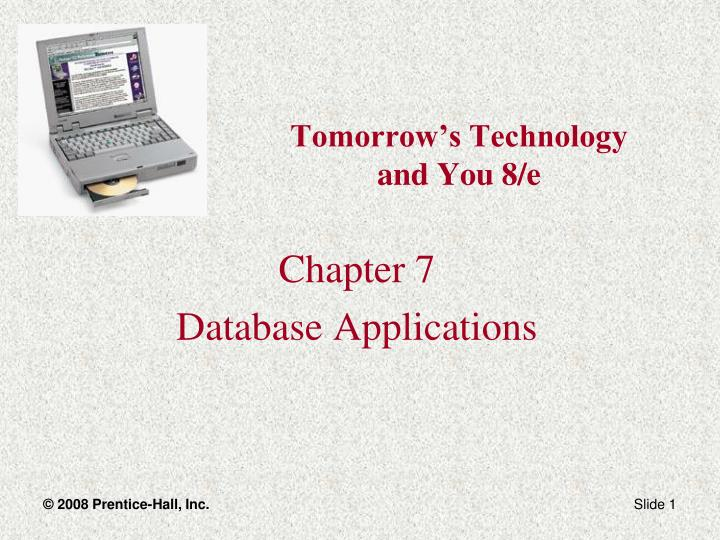 tomorrow s technology and you 8 e n.
