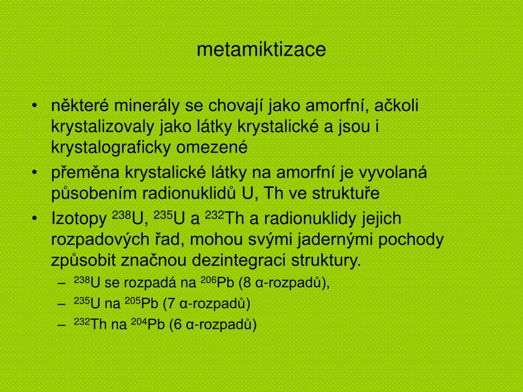 Zirkon se datuje do metamorfovaných hornin