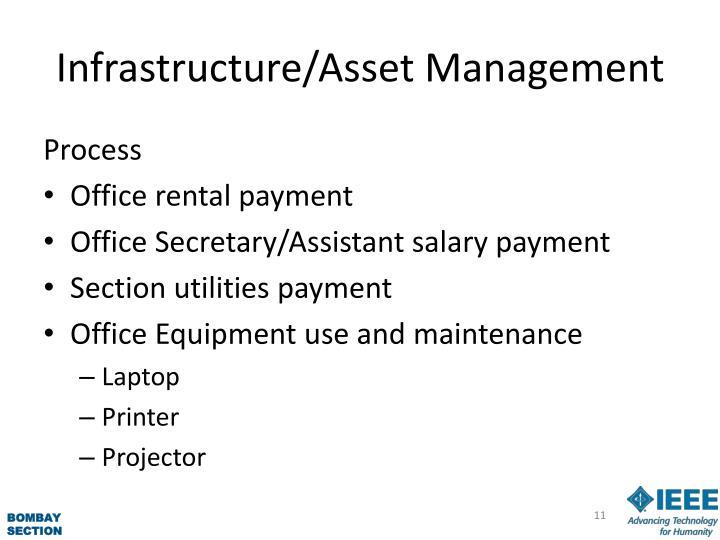 Infrastructure/Asset Management