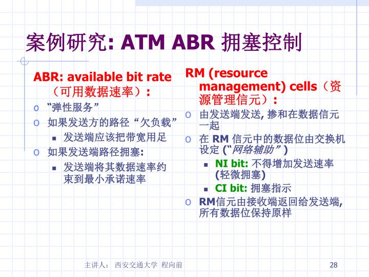 ABR: available bit rate