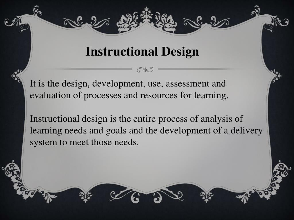 Ppt Instructional Design Powerpoint Presentation Free Download Id 5775691