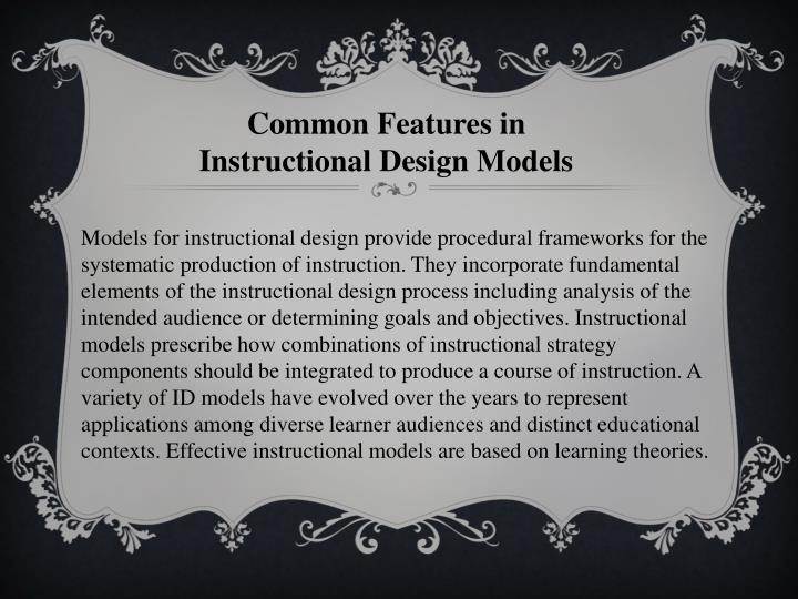 Common Features in