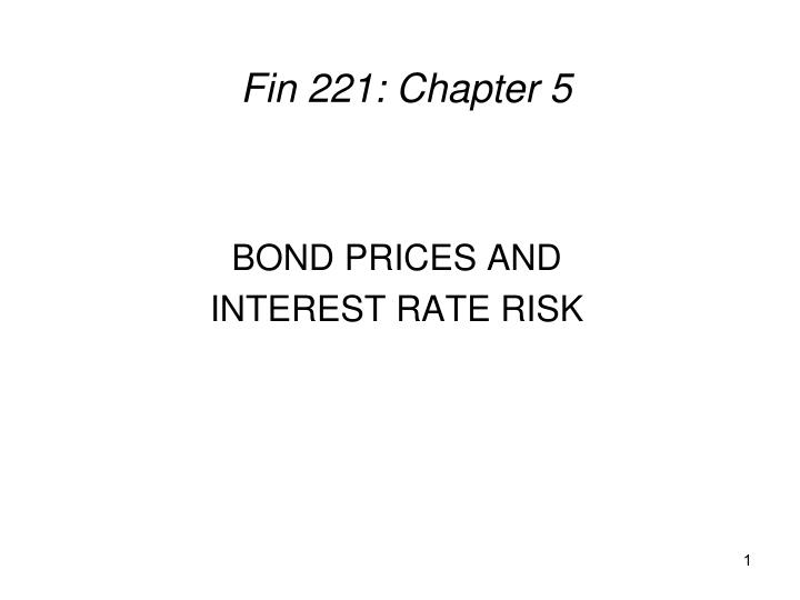 fin 221 chapter 5 n.