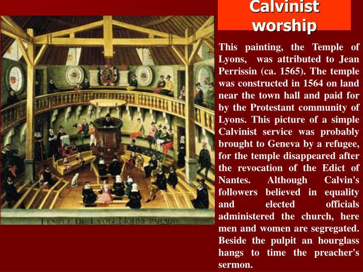 Calvinist worship