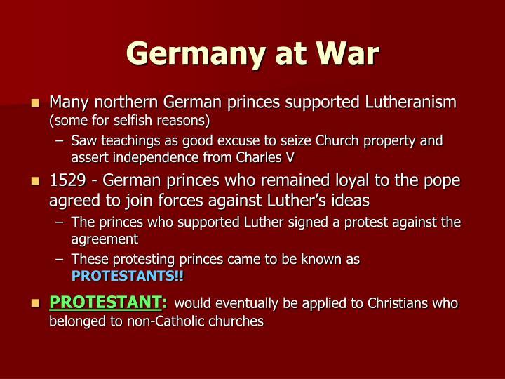 Germany at War