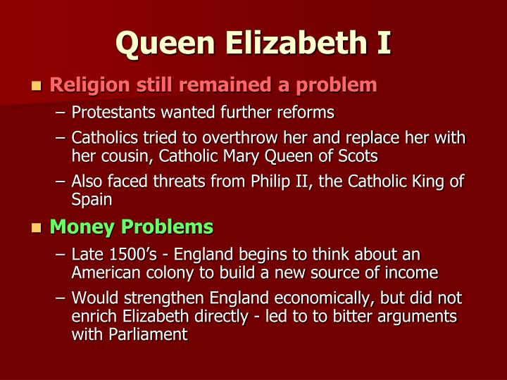 Religion still remained a problem