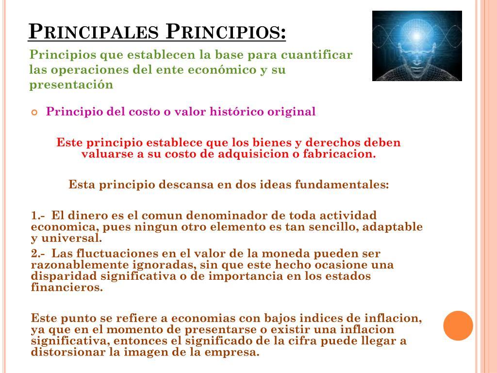 Ppt Principios De Contabilidad Generalmente Aceptados