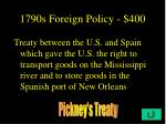 1790s foreign policy 400