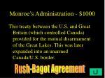 monroe s administration 1000