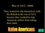 war of 1812 800