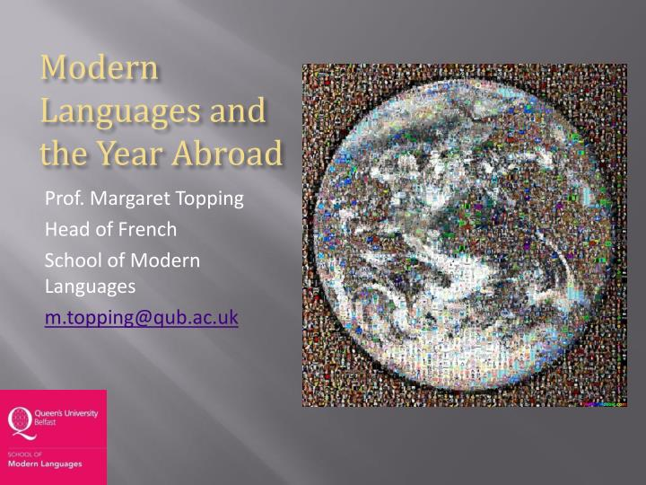 modern languages and the year abroad n.