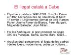 el llegat catal a cuba