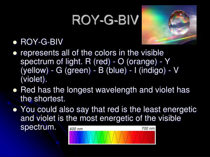 ROY-G-BIV