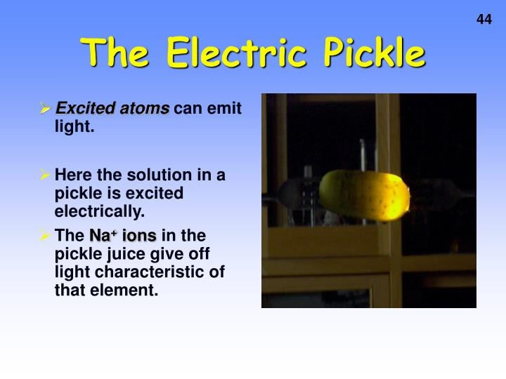 The Electric Pickle